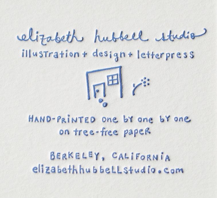 Elizabeth Hubbell Letterpress - Green Plum Design