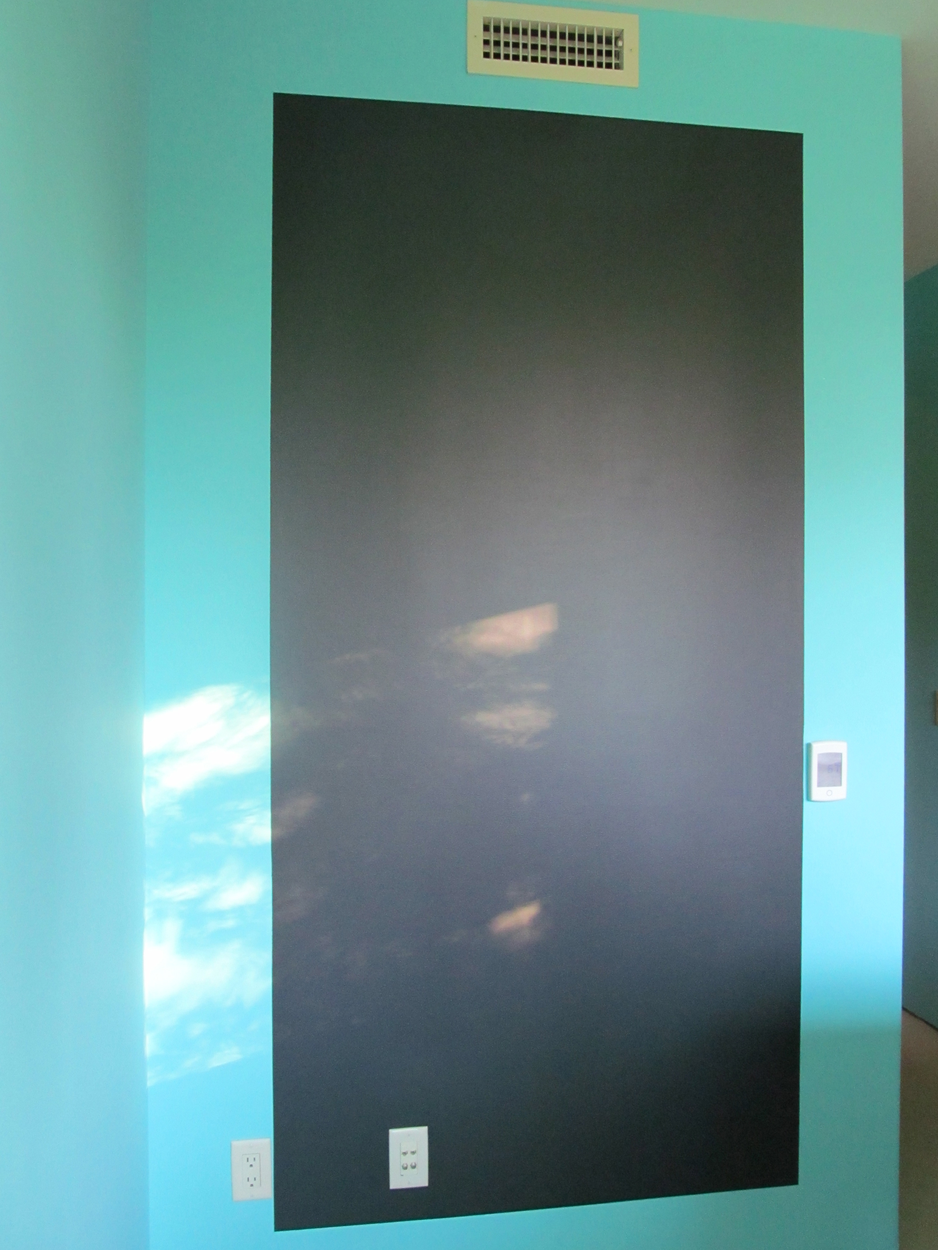 Benjamin Moore: Chalk Board Paint Walls: Mexicali Turquoise